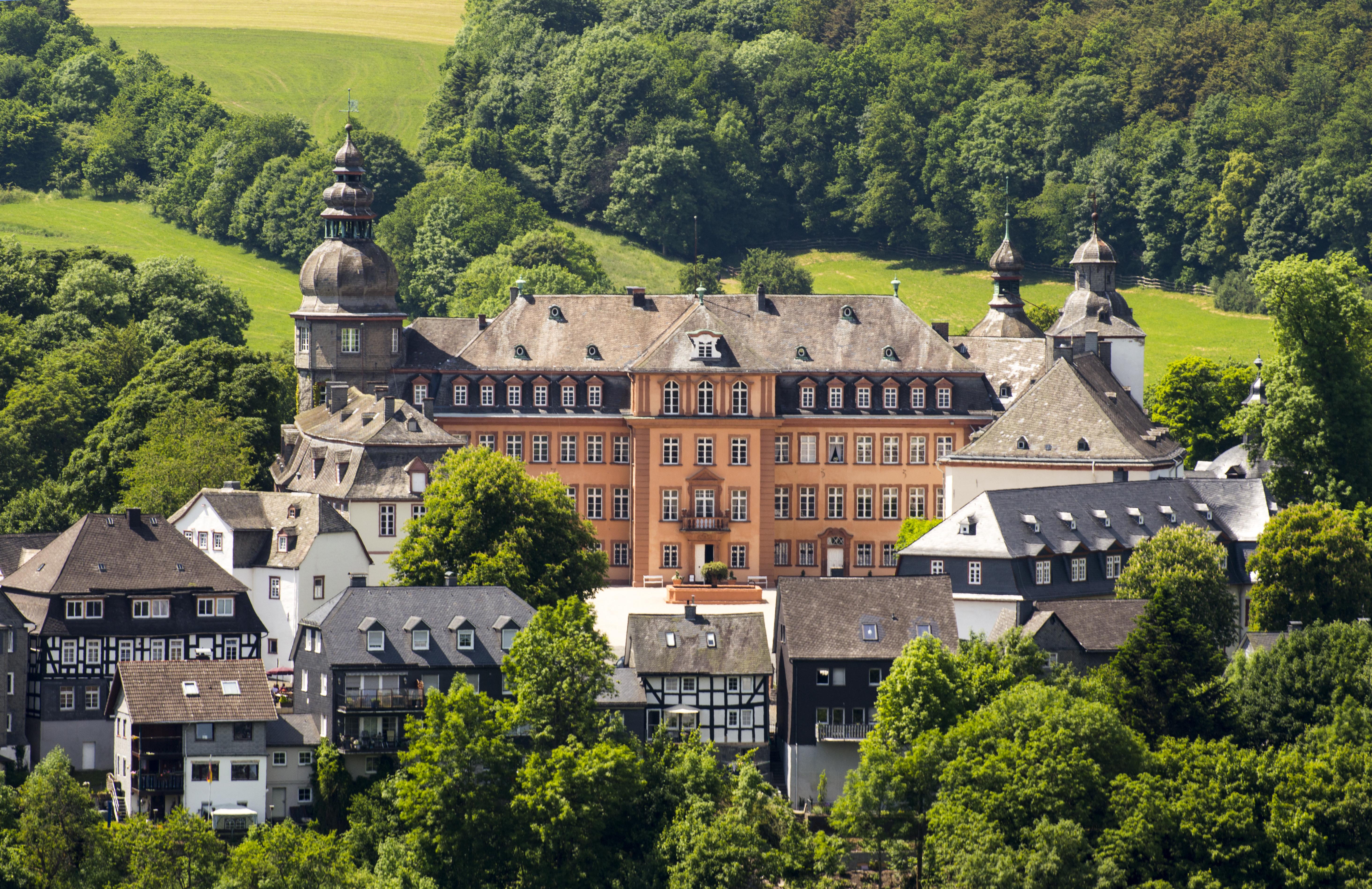 Schloss Berleburg (Foto: Konstantin Bikar)